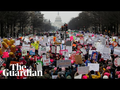 Women's March 2019: Tens of thousands take to streets across the world