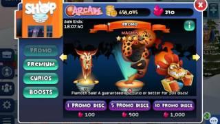 Curio Quest - Clubs Wars Reward + Buying Promo Disc
