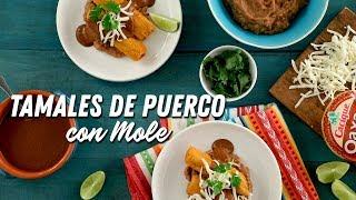 Tamales de puerco con mole│VIDEO │Kroger