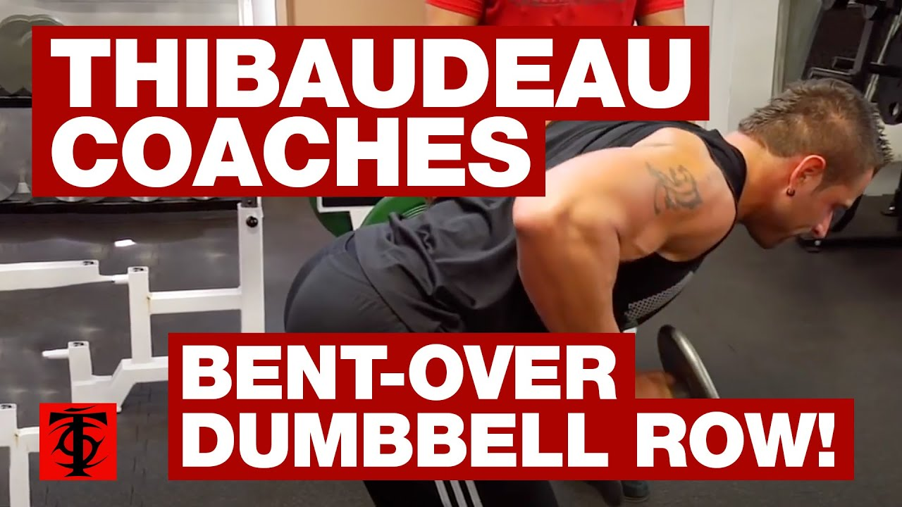 Bent-Over Dumbbell Row - YouTube