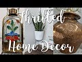 Goodwill Thrift with Me Home Decor and DIY Thrifted Before & After