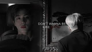 [namjin || vampire!au] don't wanna be like you.