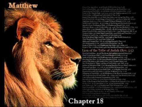 The Book of Matthew - King James Version!!