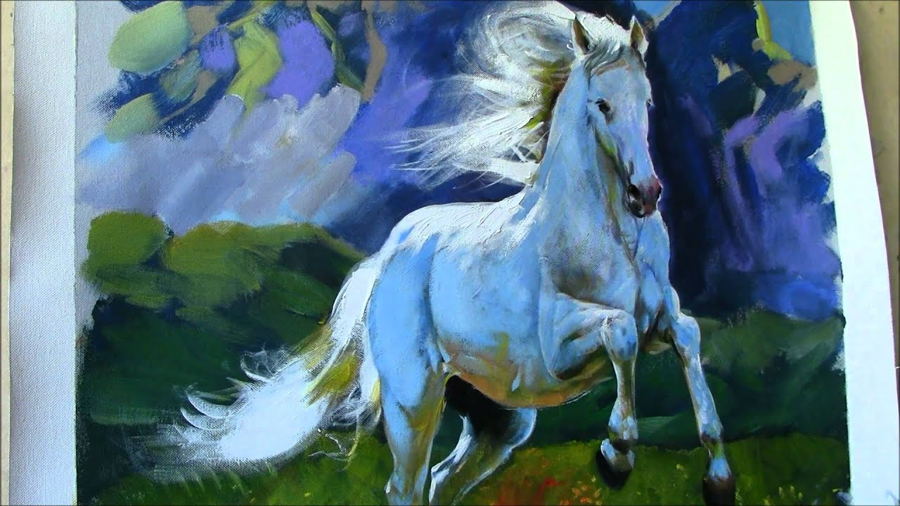 Painting Horse ...