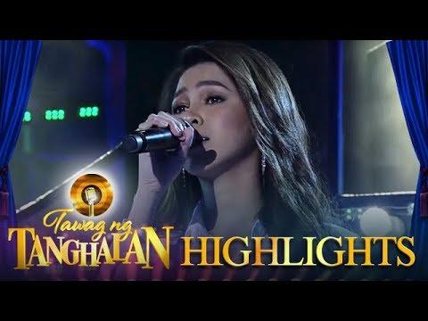 Tawag ng Tanghalan: Marielle Montellano sings