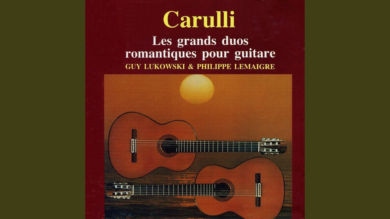 Ferdinando Carulli: Carnaval de Venise - YouTube