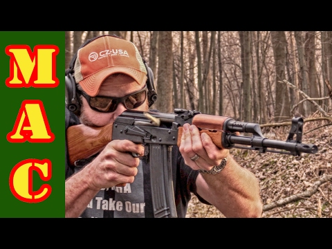 Shooting NEW Chinese Norinco 84S AK Rifle