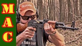 Shooting NEW Chinese Norinco 84S AK Rifle