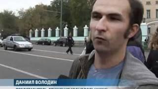 Обманутые дольщики перекрыли улицу в центре Москвы