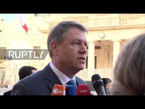 Malta: 'I trust my people' - Romanian President backs anti-corruption protesters