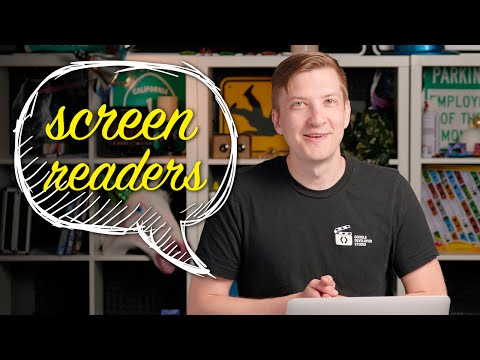 Accessible Components: Screen readers -- Polycasts #50