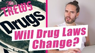 Will Drug Laws Change? Russell Brand The Trews (E407)