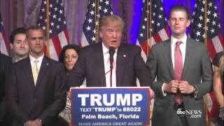 Donald Trump Delivers Florida Victory Speech in [FULL SPEECH]