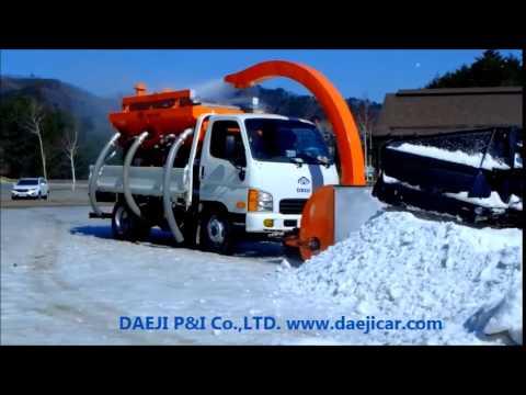 snow melter machine