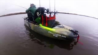 Hobie Pro Angler 12 Texas Marsh Testing | Best Pedal Drive Kayak Round 2: Hobie PA 12