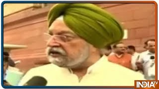 Minister Hardeep Singh Puri Reacts to Pak's Action Against Hafiz Saeed