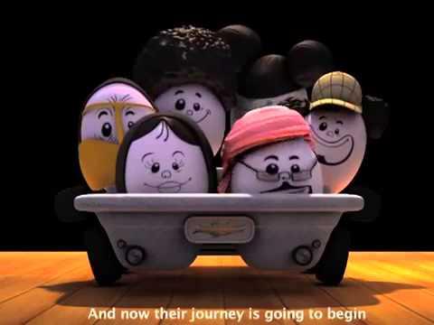 FREEJ  Wear seat belts or be scrambled!  فريج  لا تصبحوا كالبيض المخفوق!