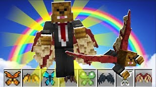 4-PLAYER *MAGIC WINGS MOD* MINECRAFT MODDED MONEY WARS - MINECRAFT MODDED MINIGAME | JeromeASF