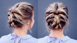 Hairstyle Of The Day: Topsy Tail Updo | Milabu