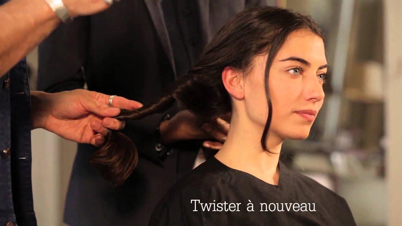 Comment se coiffer rapidement le matin ? - ELLE Coiffure - YouTube