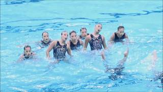 Sea Games Synchronised Swimming