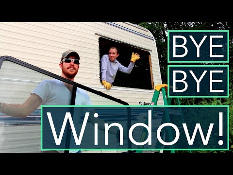 RV Water Damage Repair + Window Removal/Wall Paneling