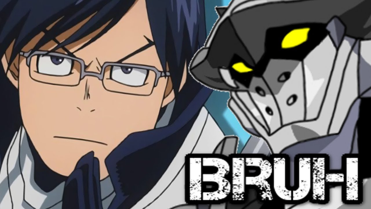 Tenya Iida S Engine Quirk And Incursio Hero Costume My Hero Academia