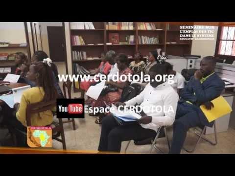 Séminaire TIC-Système Educatif : Itw de Marius Tchakounang