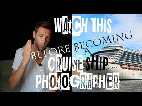 Cruise Ship Photographer Review -  Here's What Really It's Like! - VID #49