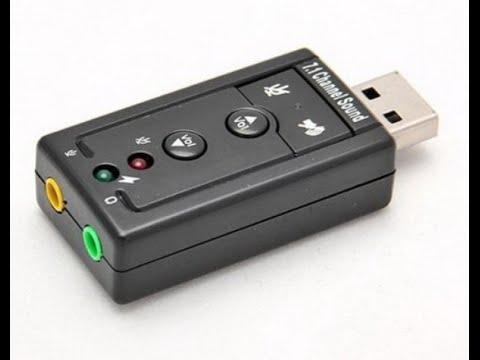 Обзор. Внешний USB 2.0 адаптер, 3d-аудио звуковая карта