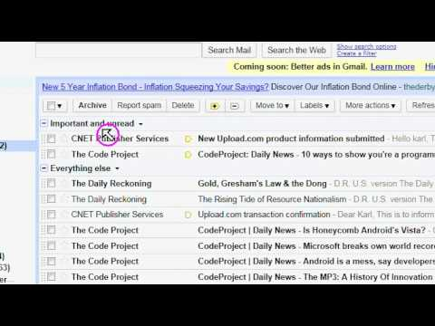 Gmail: How to restore normal zoom level