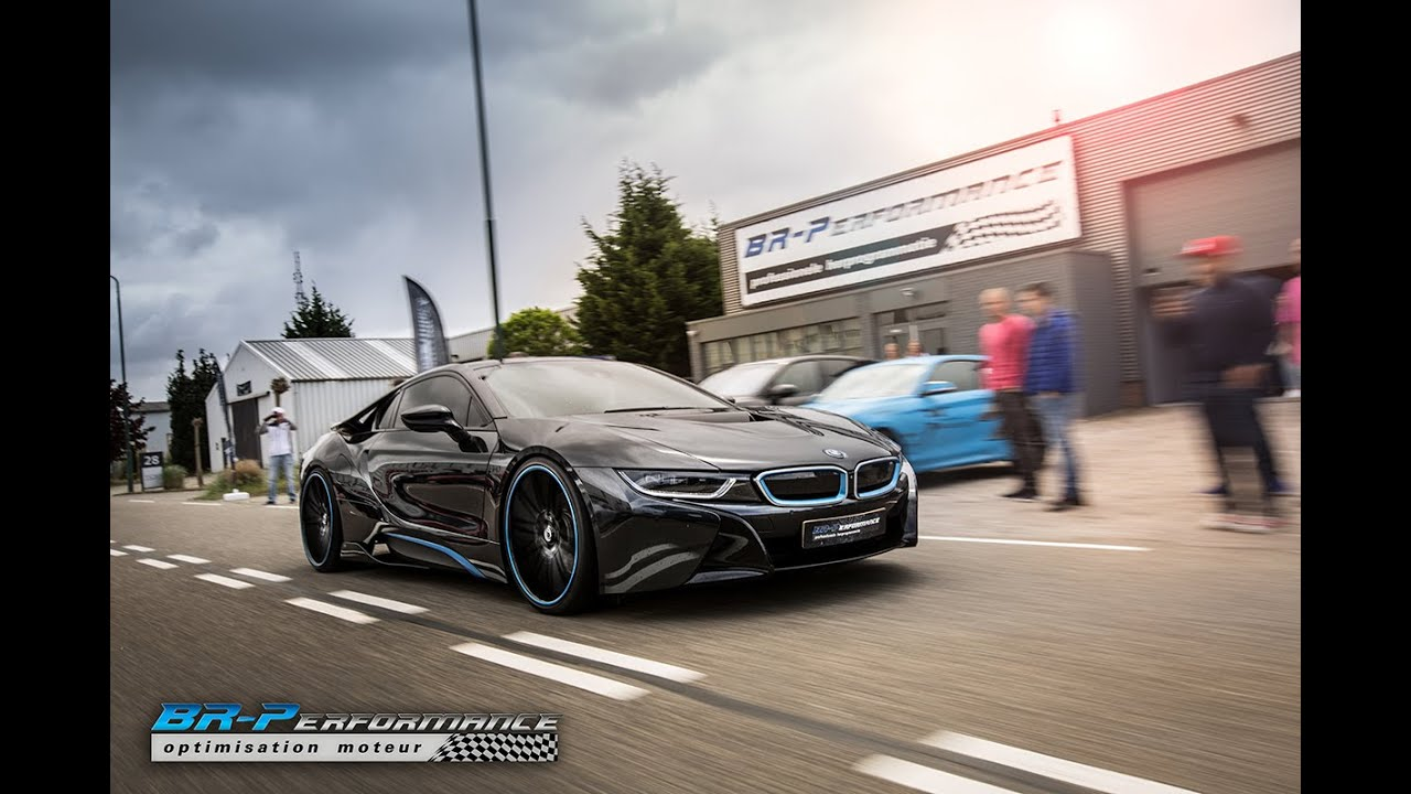 Bmw I8 Stage 1 By Br Performance Youtube