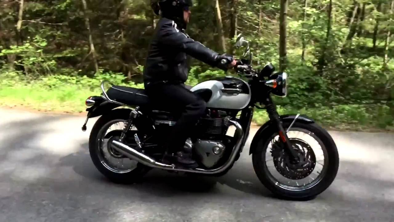 Remus Sound Triumph Bonneville T120 Mod 2016 Youtube