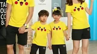 áo gia đình giá rẻ - đồ cặp gia đình - áo gia đình 4 người - aothunexpress