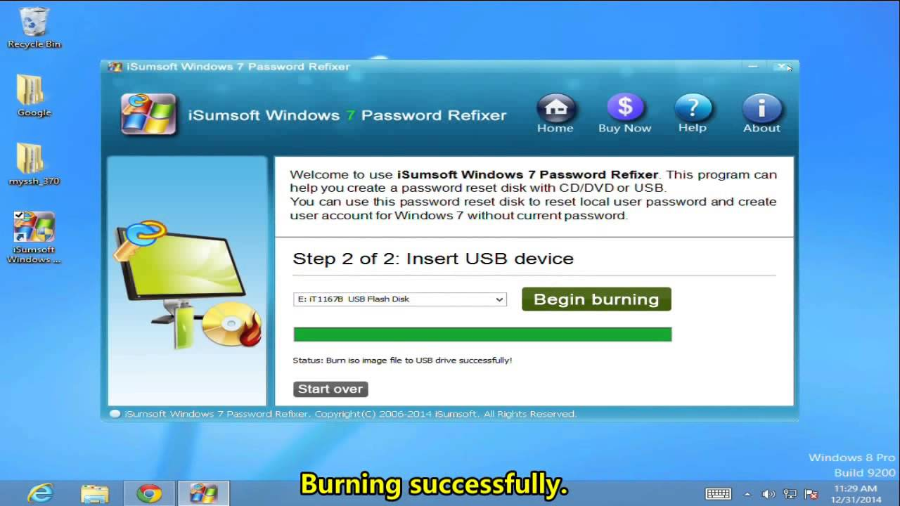 windows 7 ultimate password recovery