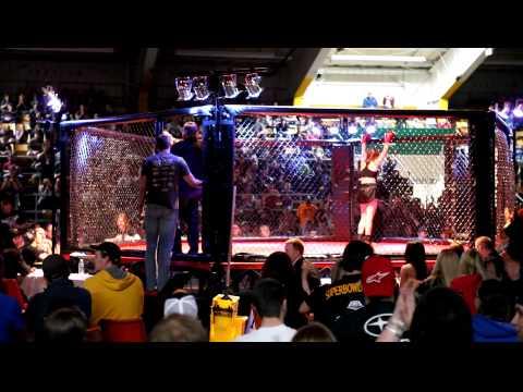 Round #3 - UPC Superior Fights II - Erin McCulloch vs Missy Pontbriand - Muay Thai - 04/08/12
