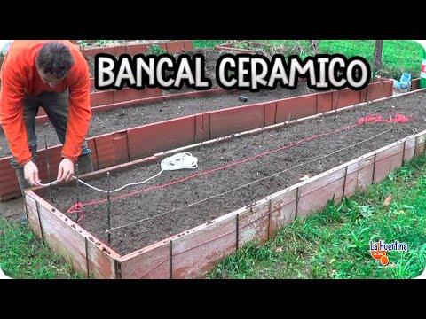 Como hacer un bancal ceramico huerto organico la - Como cultivar un huerto ...