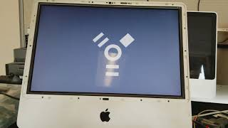 diagnostic boot of one iMac into another using target disk mode