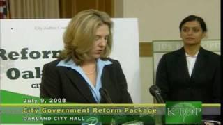 Real Oakland Administrative Reform (ROAR) Part II