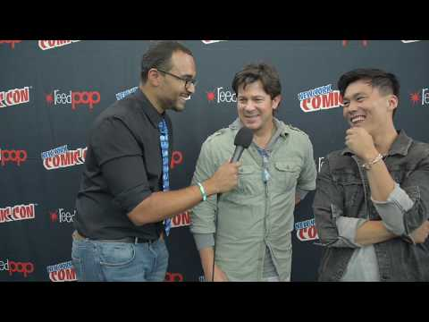 The Librarians Season 04  John Harlan Kim & Christian Kane  NY Comic Con 2017