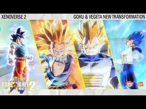 Goku & Vegeta New Transformation + New Skill & Moveset | Dragonball Xenoverse 2