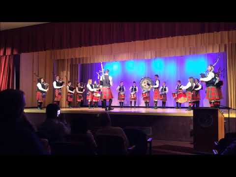 LEGACY Iona College Pipe Band 2017