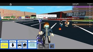 ROBLOX Horror Show: Episode 1 - The Slit Mouthed Woman