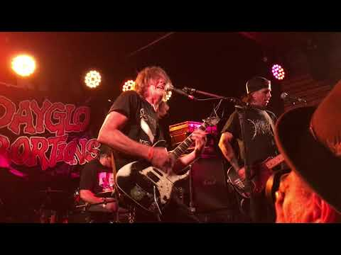Dayglo Abortions live Houston 07.05.2018