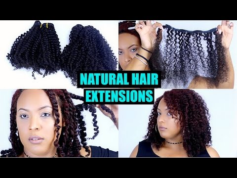 The Most REALISTIC Looking NATURAL HAIR CLIP-IN EXTENSIONS! ⇢ Install & Blend | HerGivenHair