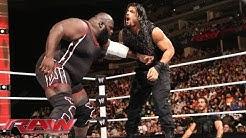 Mark Henry vs. Roman Reigns: Raw, Feb. 17, 2014