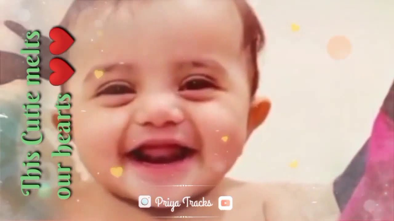This cutie melts our ️ || Baby Cute Reaction and speaking ...