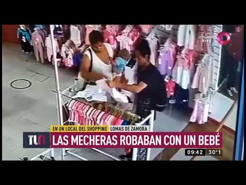 Mecheras roban con un bebé