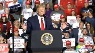 RSBN FULL SPEECH: President Trump Delivers Remarks from NH Rally
