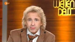 Wetten dass... Unfall 04.12.2010 Gottschalk im ZDF heutejournal